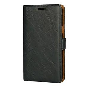 Custodia Per Samsung Galaxy J5 (2016) / J3 (2016) A portafoglio / Porta-carte di credito / Con supporto Integrale Tinta unita Resistente pelle sintetica per J5 (2016) / J3 (2016)