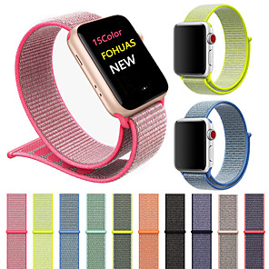ΠαÏακολουθήστε Band για Apple Watch Series 4/3/2/1 Apple Αθλητικό ΜπÏασελέ Îάιλον ΛουÏάκι ΚαÏποÏ