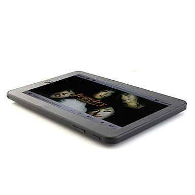 "Écran tactile de 7 ""e-book reader hd w media player fm radio / et 4 Go de mémoire"