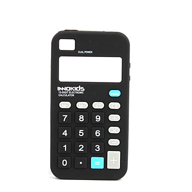 ... Gel Soft Calculator Case for iPhone 4 (Black) 210883 2017 – $4.99
