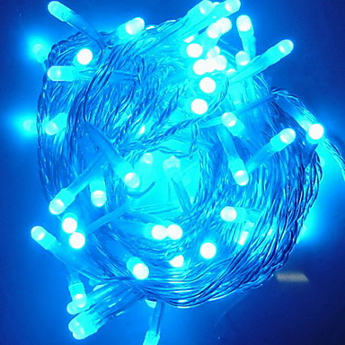 10M 6W 100-LED Blue Light String Lamp Festival Decoration (110V) 227124 2017 USD 12.99