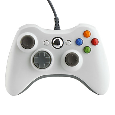 Wired USB Game Controller for Xbox 360 (Retail Pack, Assorted Colors)