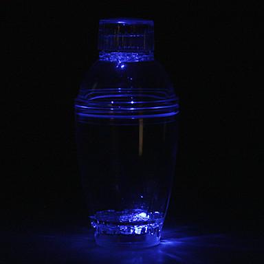 mudança de cor do flash coqueteleira com luzes LED