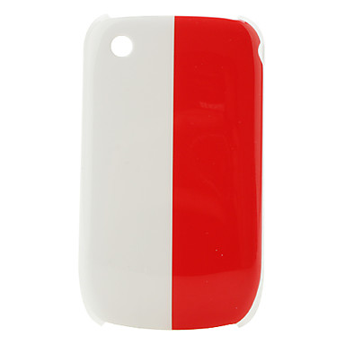 Poland Flag Pattern Protective Case for Blackberry 8520 and 8530