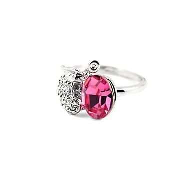 фруктов формы кристалл кольцо