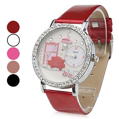Femmes canap rouge montre bracelet analogique pu quartz couleurs assorties de 412324 2017 - Canape quartz but ...