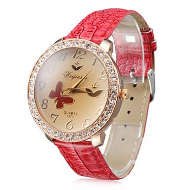 women s pu analog quartz wrist cool watches