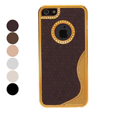 Deluxe goud chrome s lijn terug koffer met interieur for Interieur iphone