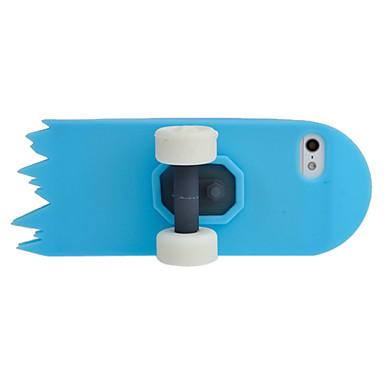 Скейтборд Силикагель Наборы чехол для iPhone 5