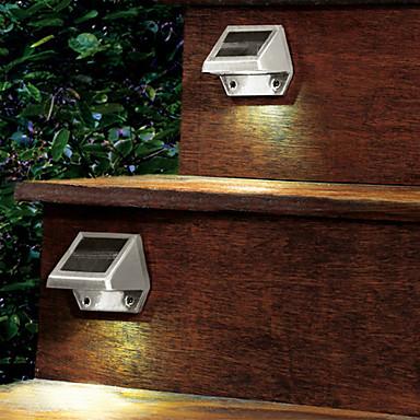 освещение лестницы в доме светильником на солнечной батарее