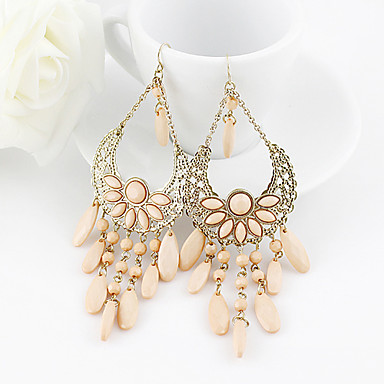Earring Drop Earrings Jewelry Women Party / Daily Alloy Pink KAYSHINE