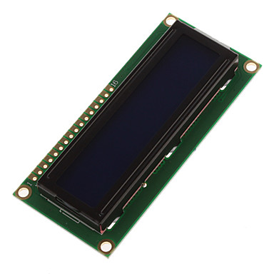 5V Screen White Character Blue Backlight LCD Module 1602 for (For Arduino) Duemilanove Robot