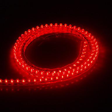 1 2m 6w 420lm luz roja luz de tira del led 12v dc 964263 - Tiras luces led ...