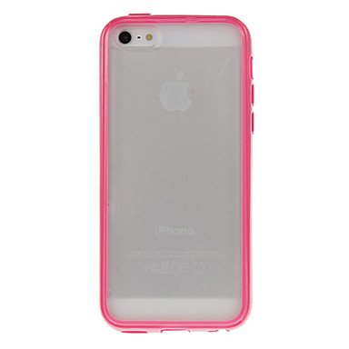 Transparent Frosted Hard Case for iPhone 5C (Assorted Colors)