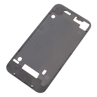 Battery Back Cover Support Frame Black for iPhone 4