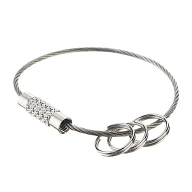 EDC Steel Ring Outdoor Keychian