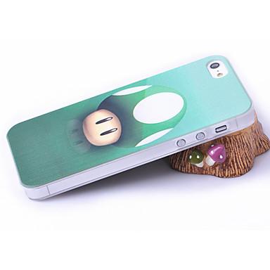 Pilz-Kopf-Muster Kunststoff zurück Fall für iPhone 5 / 5S