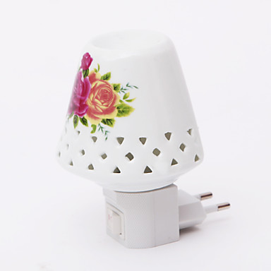 flower pattern 2 mode led lamp night light 110v 240v. Black Bedroom Furniture Sets. Home Design Ideas