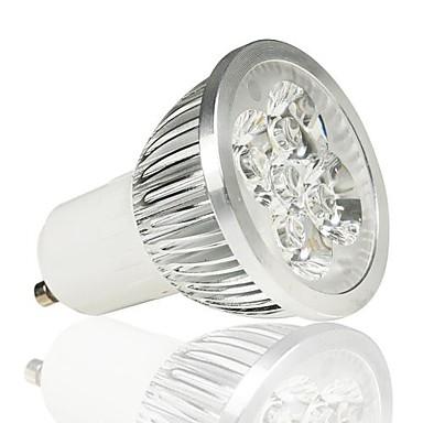 Faretti LED 4 LED ad alta intesità LOHAS MR16 GU10 5W 330 LM Bianco caldo AC 85-265 V del ...