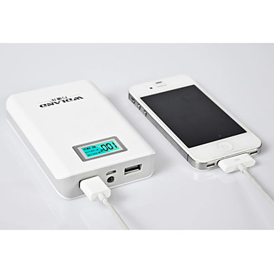 WDLand 10400mAh High-Capacity Universal Power Bank External Battery for iphone 6/6 plus/5/5S/Samsung S4/S5/Note2