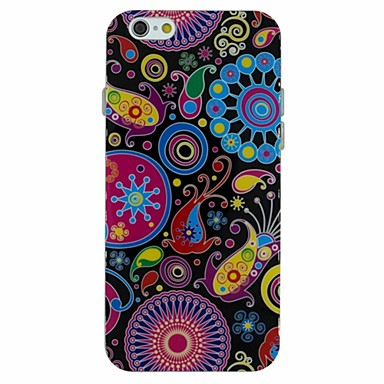 The Pop Art Pattern TPU Soft Back Cover Case for iPhone 6 2133993 2017 ? ?3.99