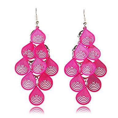 lampadario goccia : orecchini lampadario di moda europee e americane orecchini di goccia ...