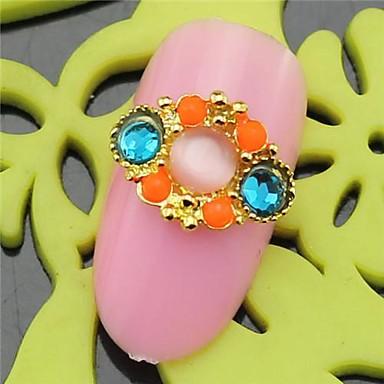 10st sh407 speciale ontwerp strass 3d legering nail art diy nagel schoonheid nagel decoratie - Decoratie murale ontwerp salon ...