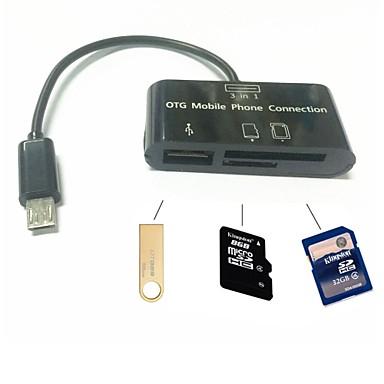 alles in een micro sd kaartlezer adapter micro usb otg. Black Bedroom Furniture Sets. Home Design Ideas