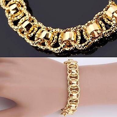 u7® nova pulseira 18k reais pedaços de platina ouro pulseira banhados 12 milímetros 21 ...