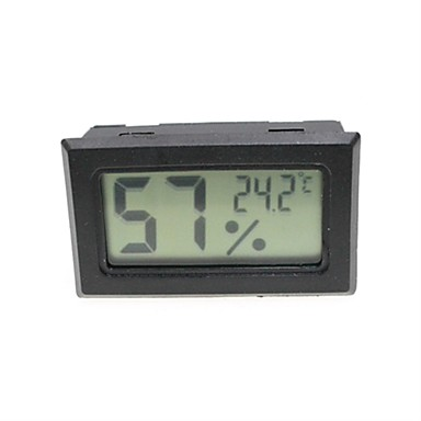 Mini Portable Thermometer for Insect Scorpion Cage / Refrigerator (2 x LR44)