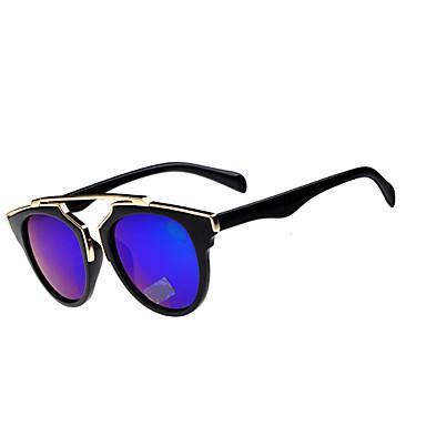 100% UV400 Frauen-Cat-Eye-Steigung-Farben-Sonnenbrille (Farbe sortiert)