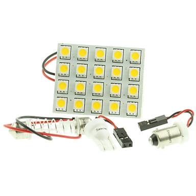 T10 ba9s sv8 5 g4 led 4w 20x5050smd geleid 220lm blauw for Led autolampen