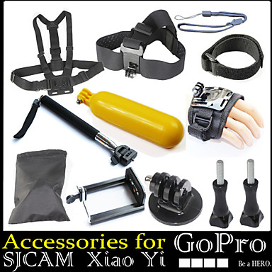 accessories for gopro bandjes polsband toebehoren kit. Black Bedroom Furniture Sets. Home Design Ideas