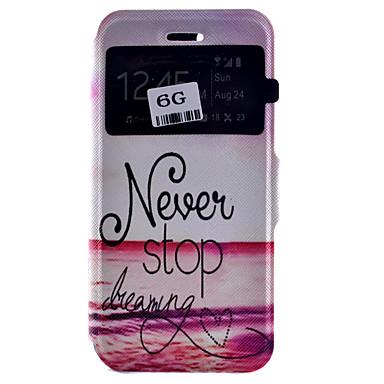 Новый тип Cikou Потяните Stop Pattern карты телефона чехол для iPhone 6 / 6S