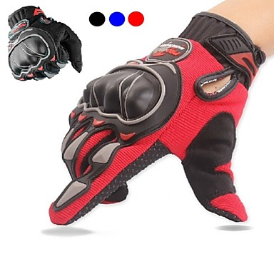 Motorcycle Racing Mountain Bicycle Cycling Anti-skid Full Finger Drop Resistance Gloves for Men Black Gloves Tactical