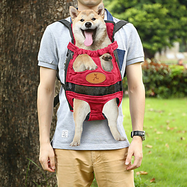 Portable Double-shoulder Pet Travel Carrier Dog Backpack ...
