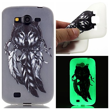 Samsung Galaxy Case Glow Dark / Pattern Back Cover Animal TPU SamsungOn 7 5 J3 J1 Ace Grand Prime