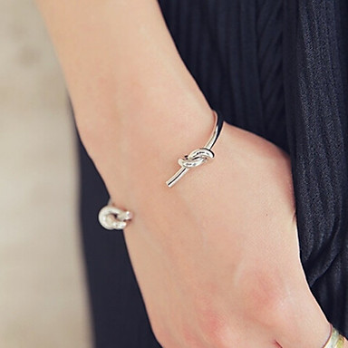Alloy Bracelet Cuff Bracelets Party / Daily / Casual 1pc