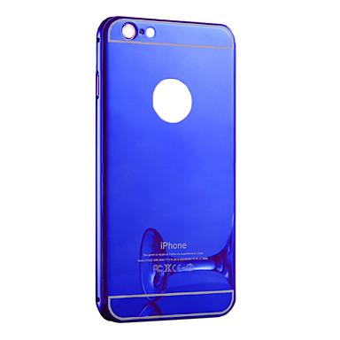 Galvanisieren Spiegel Transparent PC mit Kasten für Iphone6 Plus / 6s Plus (verschiedene Farben)