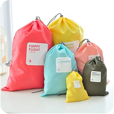 4pcs sac de voyage rangement pour valise sac chaussures etanche r sistant la poussi re. Black Bedroom Furniture Sets. Home Design Ideas