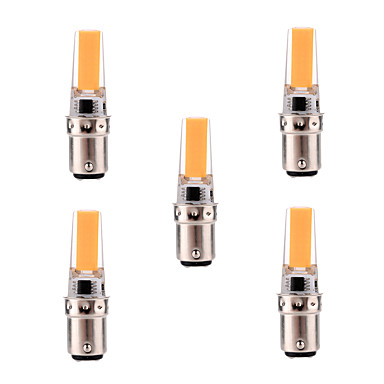 YWXLIGHT Dimmable 5W BA15D LED Bi-pin Light T 1 COB 400-500 lm Warm White / Cool AC 220-240 110-130 V