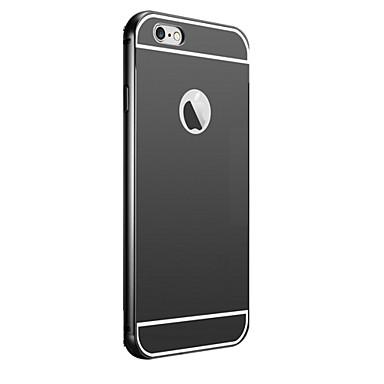 Placage dos de miroir avec cadre en m tal cas de t l phone for Application miroir iphone