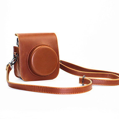 PU Leather Mini Camera Case Fujifilm Instax 70 Detachable Shoulder Strap
