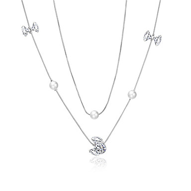 Xu Women 's Elegant All-match Fashion Leaf Personality Pendant Simple Necklace