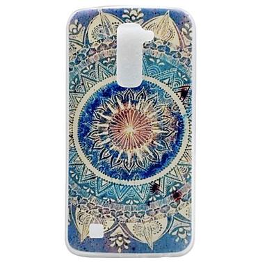 Mandala Pattern TPU Material Phone Case LG K10