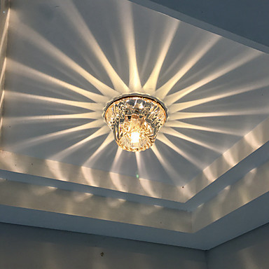 Led Ceiling Lights Crystal Ice Recessed Downlight For