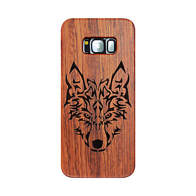 For Samsung Galaxy S8 S8 Plus Ultra Thin Wolf Timberwolves Carved Protective Back Cover Samsung Case  S7 edge S7