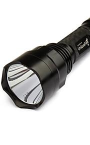uniquefire t6 um modo cree T6 XM-L levou lanterna set (1000lm, 1x18650)