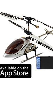 3 helicóptero canal com giroscópio ipilot 6020i controlado por iphone / ipad / ipod itouch