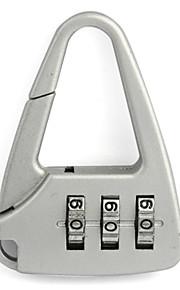 3-dígitos cadeado forma de triângulo (cores sortidas)